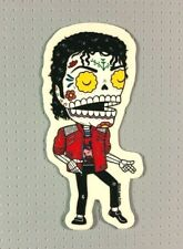"Day of the Dead Michael Jackson Sticker 4"" Jose Pulido Music"