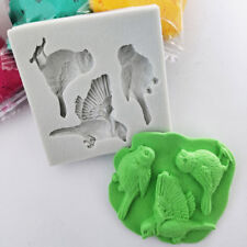 3D Bird Cake Silicone Mold Fondant Chocolate Decorating Baking Icing Craft Mould