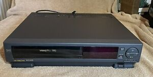Hitachi M230E VCR VHS - Video Cassette Player + Remote - 4 Head - WORKING