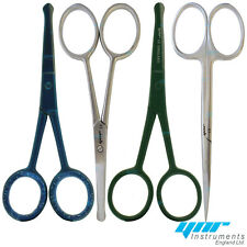 YNR England Nose Scissors Moustache Mustache Scissors Baby Hair Trimming Scissor