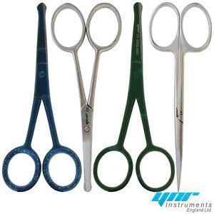 YNR England Nose Scissors Moustache Mustache Scissors Baby Hair Trimming Scissor