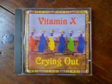 "VITAMIN X ""CRYING OUT"" - CD"
