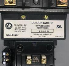 Allen-Bradley DC Contactor 123160