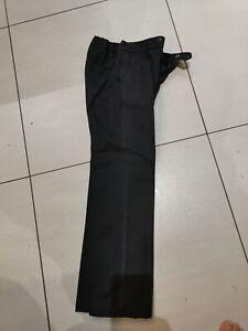 """4 xBoys grey Trutex school trousers, size 26 R, 66cm/26"""" waist, 68.5cm/27"""" i/leg"""