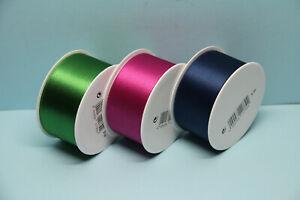 2m Geschenkband Dekoband Schleifenband Satinband 38mm (1,80€/m)
