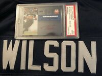 🔥Rare 2012 Panini Elite Russell Wilson On Card Autograph Auto Rookie Red Psa 9