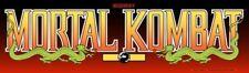 "Mortal Kombat Arcade Marquee 26""x 8"""