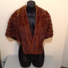 Lovely Fabric-Lined FUR Stole - Warm Cover Over Your Shoulders! (#CB15-12)