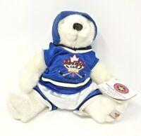Vintage Hard Rock Cafe Toronto 2007 Hockey Player #69 Herrington Plush Bear
