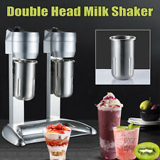 300w Milkshake Drink Mixer Machine Milk Shake Maker Blender Stand Double Head Us