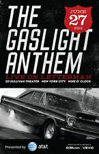 "GASLIGHT ANTHEM ""LIVE ON LETTERMAN""2012 CONCERT TOUR POSTER-Heartland Rock Music"