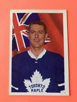 William Harris 1963-64 Parkhurst Hockey Card #11 Toronto Maple Leafs