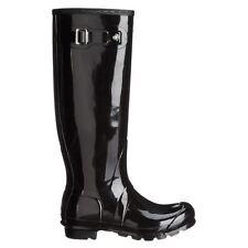 Hunter Flat (less than 0.5') Patternless Boots for Women