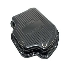Black Automatic Transmission Deep Pan Extra Capacity TH400 - GM Chevy Turbo 400