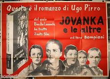 manifesto 4F originale JOVANKA E LE ALTRE Silvana Mangano Martin Ritt 1960