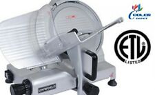 "New 12"" Commercial Electric Meat Deli Slicer Model Sl12E Nsf Etl Certified"