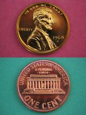 1969 S Proof Lincoln Memorial Cent Penny Beautiful Coin Flat Rate Shipping