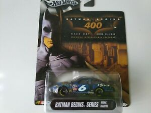 Hot Wheels 2004 Batman Begins 400 Mark Martin  #6 ,Nascar, New