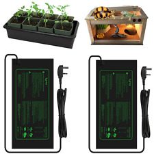 More details for 2psc 21w seedling heating mat greenhouse reptiles vivarium plant seed warming