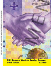 MRI Bankers' Guide to Foreign Currency 93rd edition, released in April 2019