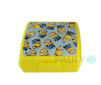 Tupperware Minions Sandwich-Box Lunchbox Brotdose Pausen Dose Schule Kinder-Box