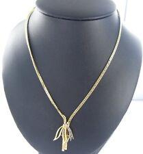 Collar con Diamante 0,25 Ct 585er Oro