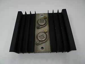 Heat Sink Ali Mullard OC35 Germanium Transistor on Heat Sink