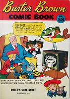Buster Brown #38 FN Roger Shoe Store Albertville Alabama Promo 1955 Comic Book