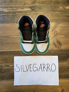 Brand New Nike Air Jordan 1 Retro High Lucky Green (TD) Size US 8C