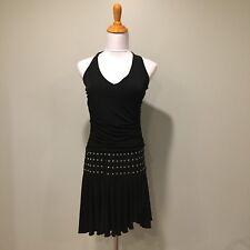 Charlotte Russe Black Party Club Halter Dress Latin Salsa Dance Medium