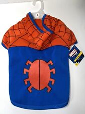 Marvel Spider-man Dog Puppy Hoodie Pet Costume Petco Size Large With Tags