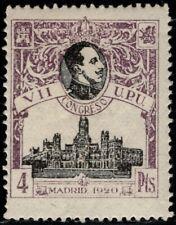 1920.MH.Ed:*308.UPU.4 pts violeta.PCat:145€