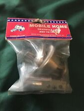 """NEW NOS US Hardware D-113B Dead Bolt Lock & Drive In Latch 2-3/8"""" Mobile Home"""
