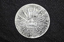 Mexico - Republic 1843 Go PM 8 Reales Silver Coin ( Weight : 26.25 g ) C52