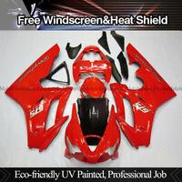 Red ABS Injection Molded Bodywork Fairing Kit For Triumph Daytona 675 2006-2008