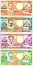 Suriname 25 - 500 Gulden 1988(or 1986) year Set 4 pcs BrandNew Banknotes