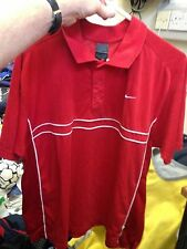 VINTAGE TENNIS TOPS NIKE IN LARGE 40/42INCH BNWL AT £14  RED/WHITE jim courier
