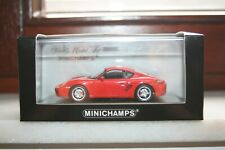MINICHAMPS PORSCHE CAYMAN S RED 2005.