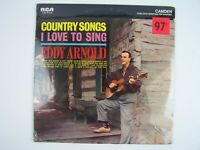 Eddy Arnold – Country Songs I Love To Sing Vinyl LP Record Album NEW Sealed