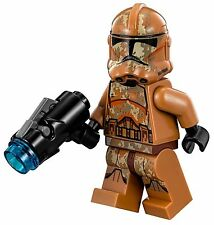 LEGO STAR WARS GEONOSIS CLONE TROOPER MINIFIG MINIFIGURE FROM SET 75089 NEW