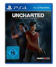 Sony PlayStation 4 PS4 juego Uncharted - the perdido Legacy