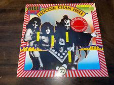 KISS Hotter Than Hell German pressed Casablanca vinyl LP EXCELLENT CONDITION