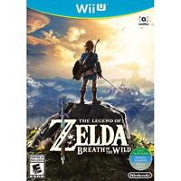 The Legend of Zelda: Breath of the Wild Nintendo Wii U [LINK Hyrule RPG] NEW