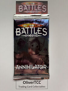 Dr Who Battles In Time Sealed Pack Of Annihilator Trading Cards