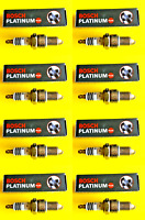 New SET OF 8 BOSCH Platinum Spark Plugs - 4034 Made in Germany