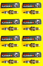 New SET OF 8 BOSCH Platinum Spark Plugs - Made in Germany