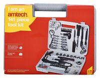 New 141Pc Tool Kit Set Hammer Screwdriver Waterpump Pliers Ratchet Diy Case