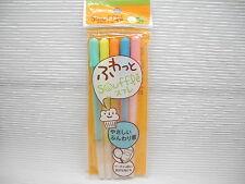 5 Colors Sakura 0.8mm Souffle 3D Mat Color Gel Ink Pens (Made in Japan)