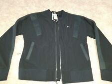 UNDER ARMOR Medium Womens Black Jacket MSRP $129 Hoodies Sweaters & More