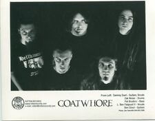 GOATWHORE - THE ECLIPSE OF AGES INTO BLACK PROMO PHOTO - 2000  Acid Bath
